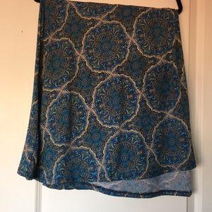 LuLaRoe Maxi Skirt 3XL